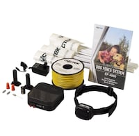 Black dog fence system with guide book Baton Rouge, 70808