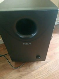 black and gray subwoofer speaker Sun Valley, 89433