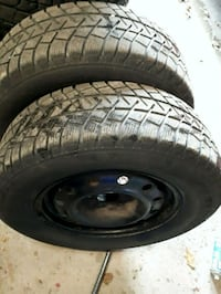 4 Winter tires 225 70 16. Barrie, L4N 8S8