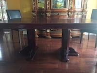 Antique HardWood Dining Table with Chairs Toronto, M9W 4K9
