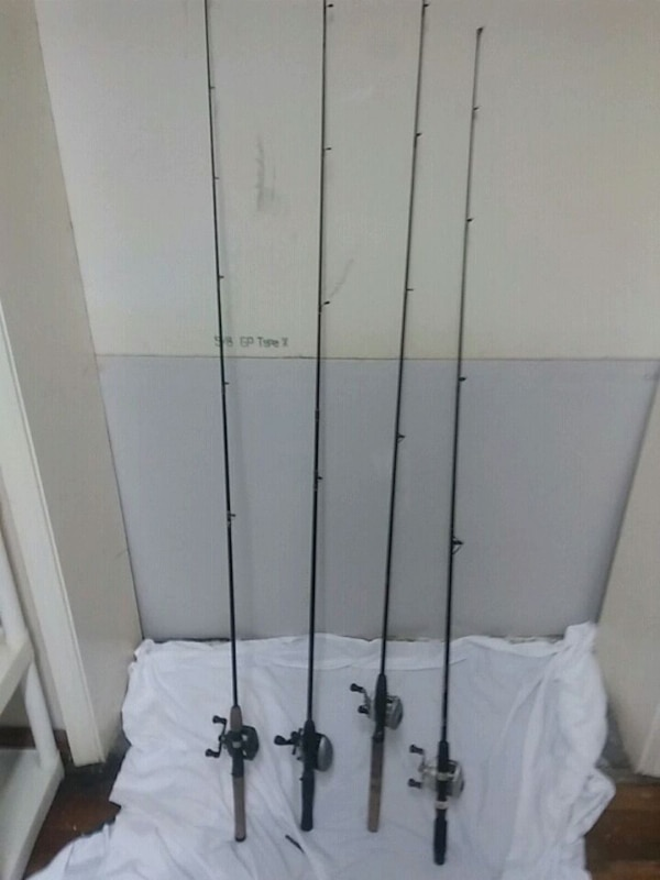 Used 4 Open Face Fishing Rods For Sale In Pensacola Letgo