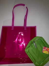 clinique bag + make up bag Toronto, M6P 4A6