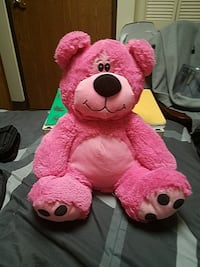 Pink Stuffed Animal Bear