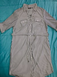 Women's plus size button up dress. Size 2X.  Edgewater, 21037