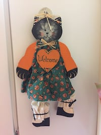 Fall welcome kitty decoration Lexington, 40511