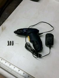 black and red corded power drill Montreal, H1C 0B2