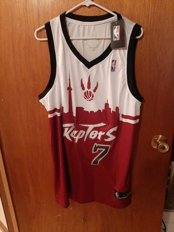 Toronto Raptors jersey 54 new with tags  050ab725-a7b4-4cff-aeaf-9e383a01490c