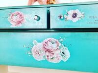 Gorgeous Refinished Antique Dresser in Turquoise Blue Mississauga, L5J 4G2