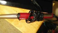 red and gray Conair curling iron Fresno
