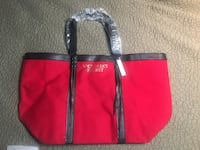 red and black leather tote bag Baton Rouge, 70808