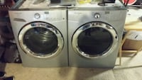 two gray front-load clothes washer and dryer set Colorado Springs, 80903