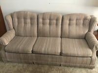 Gray fabric 3-seat sofa Youngstown, 44511
