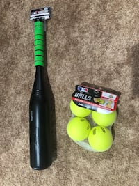 Baseball Bat & Wiffle Balls - brand new Fairfax, 22030