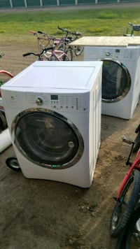 white front load washing machine Fargo