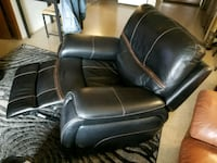 black leather recliner sofa chair Portland, 97212