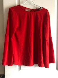 BRAND NEW RED BLOUSE Toronto, M2J 1W6