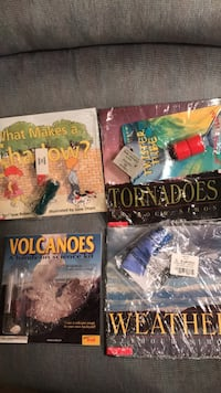 New Science Books  w/objects-Shadows, Tornadoes, Volcanoes, Weather-$4 each Columbia, 21045