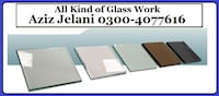 Glass Work for Home and Office Lahore