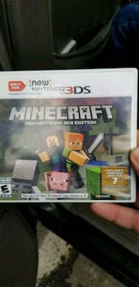 Minecraft game for new 3ds xl Lakewood, 80232