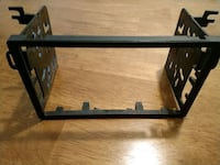 black metal framed glass top table Dallas, 97338