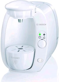 *ALL WHITE* BOSCH TASSIMO HOME BREWING SYSTEM •COMES WITH THE BOX!!•