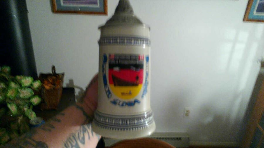 German beer stein 1