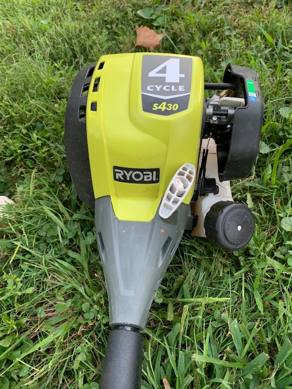 Ryobi 4 cycle weed trimmer - Weedwhacker. Only 8 months out. a25721da-6484-4d31-b5d3-2251e24a600b