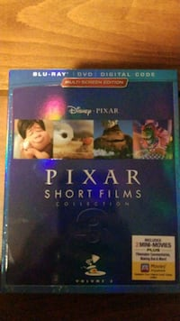 Pixar Short Films 3 Blu Ray and DVD no digital cod