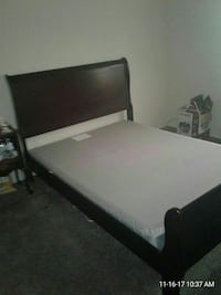 Boscovs Queen Sleigh Bed $300 or best offer