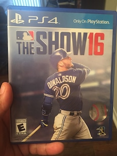 The Show 16 PS4 game