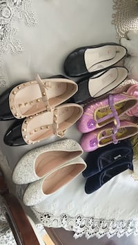 Girls shoes size 1 $5 each Mississauga, L5A 1W4
