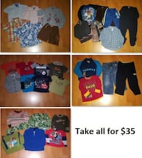 3T Boys Clothing Lot 3 (Take 31 Pieces for $35) Mississauga