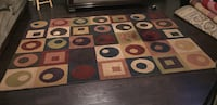 Brown, red, and white area rug Brampton, L6V