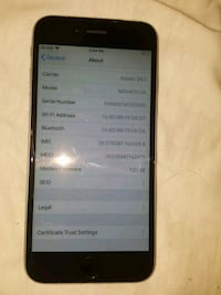 IPhone 6 locked to kodoo,64 gb 3143 km