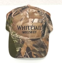 Whitetail Whiskey Camouflage Hat NEW!