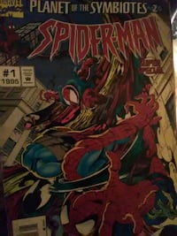 Marvel Spider-Man comic book New York, 10027