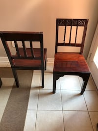 Dining chairs from India