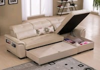 white leather sectional sofa screenshot Singapore