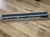Snooker Pool Cue Set with Carrying Case Markham, L3P 3B4