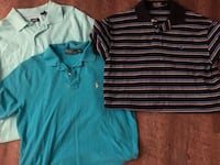 Lot of 3 Men's size Medium, two Polo and 1 Izod Lake Park, 31636