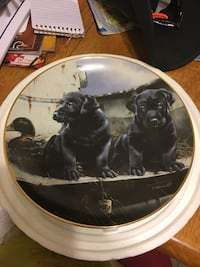 Tailgate patrol Phillip Crowe collector plate Rising Sun, 21911