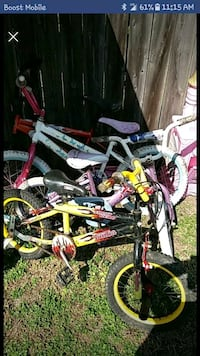 toddler's assorted bicycles Hagerstown, 21740
