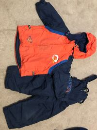 toddler's blue and orange zip-up hoodie Barrie, L4N 8S5