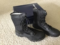 "New Men's 9.5 Bates Boots with zippers Zero Mass 8"" Austin, 78660"