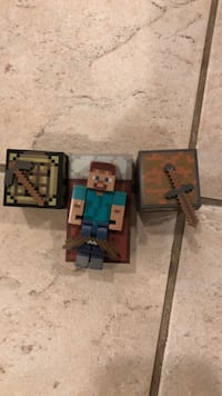 Minecraft Begginer Set W/ Extra Bow