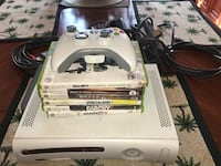 Xbox 360 with 2 controllers, 6 games, and 2 separate power chords!! Saint Petersburg, 33702
