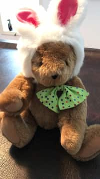 9bc667b69f5 Plush Vermont Teddy Easter Bear in excellent condition paid 89.99 measures  15 inches tall
