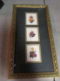 two black wooden framed paintings Baltimore, 21225
