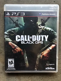 PS3 call of duty black ops -  Fresno, 93720