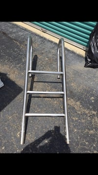 Pool ladder stainless steel